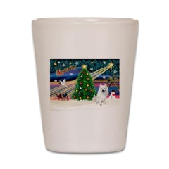 Xmas Magic & Eskimo Spitz Shot Glass