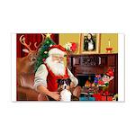 Santa's Tri Aussie (#7) 20x12 Wall Decal