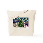 Xmas Magic - Basset Tote Bag