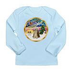 XmasMagic/Beardie #16 Long Sleeve Infant T-Shirt