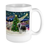 Xmas Magic & Beardie Large Mug