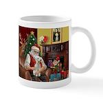 Santa's Bedlington Mug