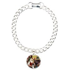 Santa's Border Collie Bracelet