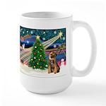 Xmas Magic & Border T Large Mug
