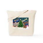 Xmas Magic & Border T Tote Bag