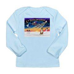 XmasSunrise/Boxer #! Long Sleeve Infant T-Shirt