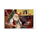 Santa's Boxer (#1) 22x14 Wall Peel