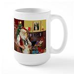 Santa's Boxer (#1) Large Mug