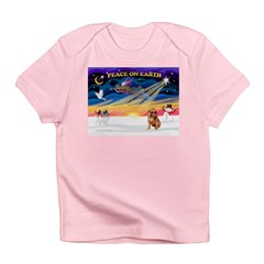 XmasSunrise/Brussels (brn) Infant T-Shirt