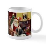 Santa's Bull Mastiff #4 Mug