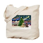 Xmas Magic & 2 Cairns Tote Bag