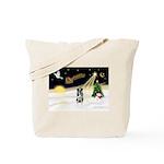 Night Flight/Catahoula Tote Bag