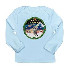 XmasSunrise/Chihuahua Long Sleeve Infant T-Shirt