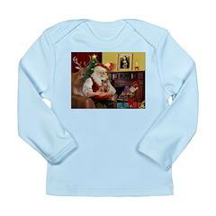 Santa's Chihuahua Long Sleeve Infant T-Shirt