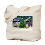 Christmas Magic & Shar Pei #2 Tote Bag