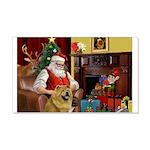 Santa's Chow Chow 22x14 Wall Peel