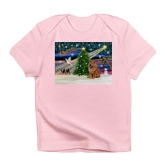 Xmas Magic & Chow Infant T-Shirt