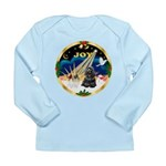 XmasSunrise/Cocker Long Sleeve Infant T-Shirt