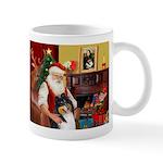 Santa's Collie (t) Mug