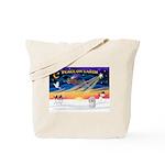 XmasSunrise/Coton #1 Tote Bag