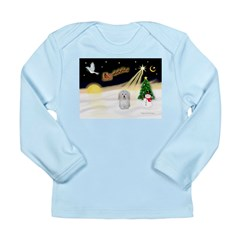 Night Flight/Coton #1 Long Sleeve Infant T-Shirt