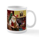 Santa's Dachshund (b) Mug