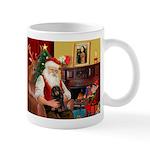 Santa's Dachshund (LH-B) Mug