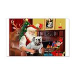 Santa's white EBD 22x14 Wall Peel