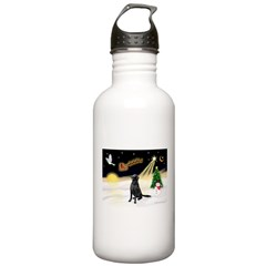 Night Flight/Fl Coat Retrieve Water Bottle