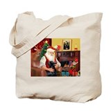 Santa's Flat Coat R Tote Bag