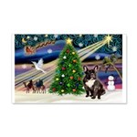 XmasMagic/French BD (br) 22x14 Wall Peel