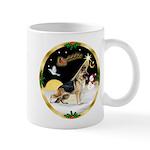 Night Flight/German Shepherd Mug