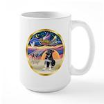 XmasStar/German Shep Pup Large Mug