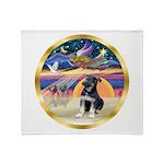 XmasStar/German Shep Pup Throw Blanket