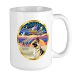 XmasStar/German Shepherd #13B Large Mug