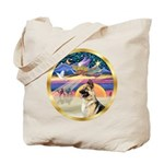 XmasStar/German Shepherd #13B Tote Bag
