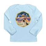 XmasStar/German Shepherd #13B Long Sleeve Infant T