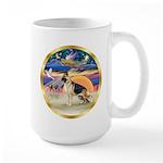 XmasStar/German Shepherd #13 Large Mug