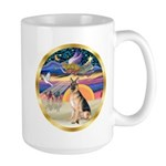 XmasStar/German Shepherd #11 Large Mug