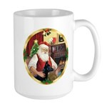 Santa's German Shepherd #14 Large Mug