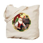 Santa's German Shepherd #14 Tote Bag