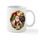 Santa's German Shepherd #13 Mug