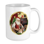 Santa's German Shepherd #11 Large Mug