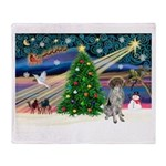 Xmas Magic/German SHP Throw Blanket