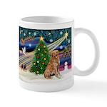 Xmas Magic Golden Retriever (#1) Mug