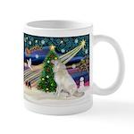 Santa's Great Pyrenees Mug