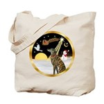 Night Flight/Greyhound (brin) Tote Bag
