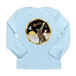 Night Flight/Greyhound (brin) Long Sleeve Infant T