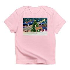 XmasMagic/Greyhound (rd) Infant T-Shirt