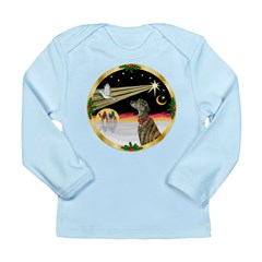 XmasDove/Greyhound Long Sleeve Infant T-Shirt
